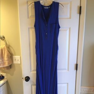Athleta Blue Maxi Dress